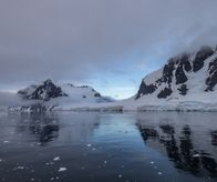 Lemaire Channel southbound (Antarctica)